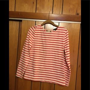 J.Crew long sleeve tee with bow at the back